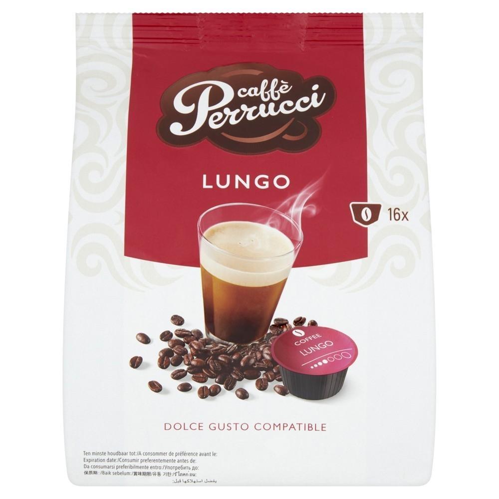 Kapsle Caffé Perrucci Lungo - do kávovarů Dolce Gusto