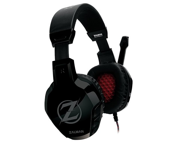 Herní sluchátka Zalman ZM-HPS300 50mm driver ZM-HPS300