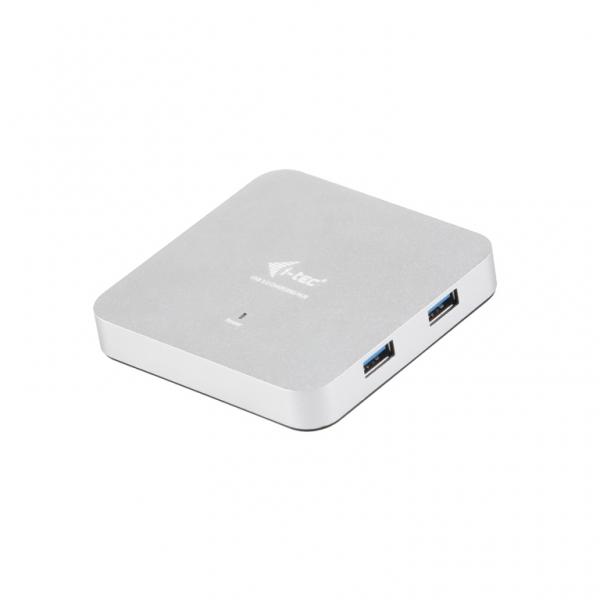 i-tec USB 3.0 Metal HUB 4 Port s napaječem U3HUBMETAL4