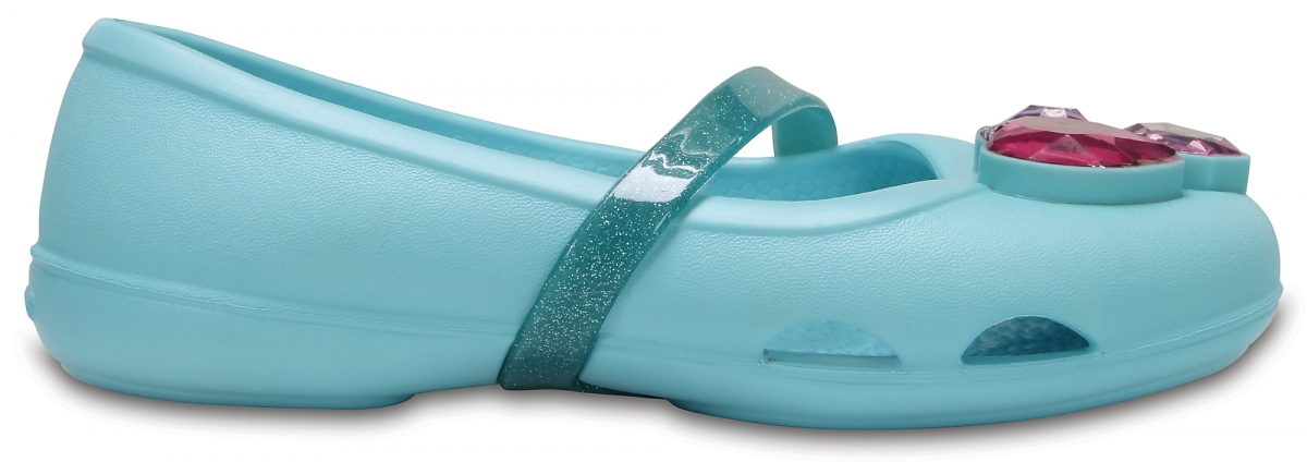 Crocs Lina Flat Kids - Ice Blue, C10 (27-28)