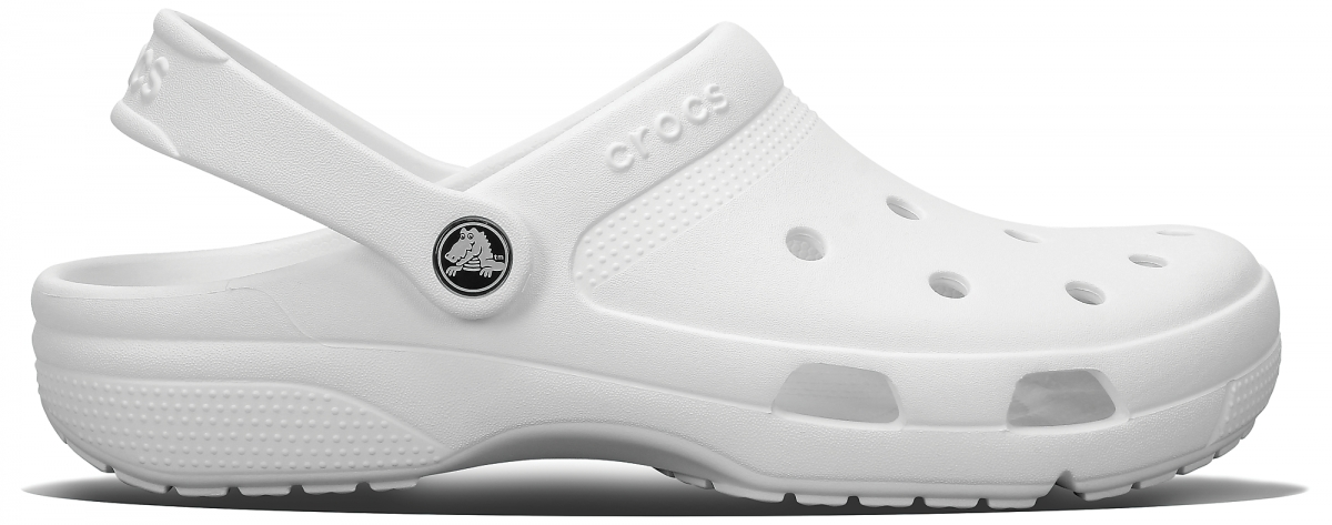 Crocs Coast Clog - White, M7/W9 (39-40)