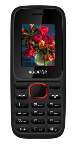 ALIGATOR D200 Dual sim černo-červený AD200BR