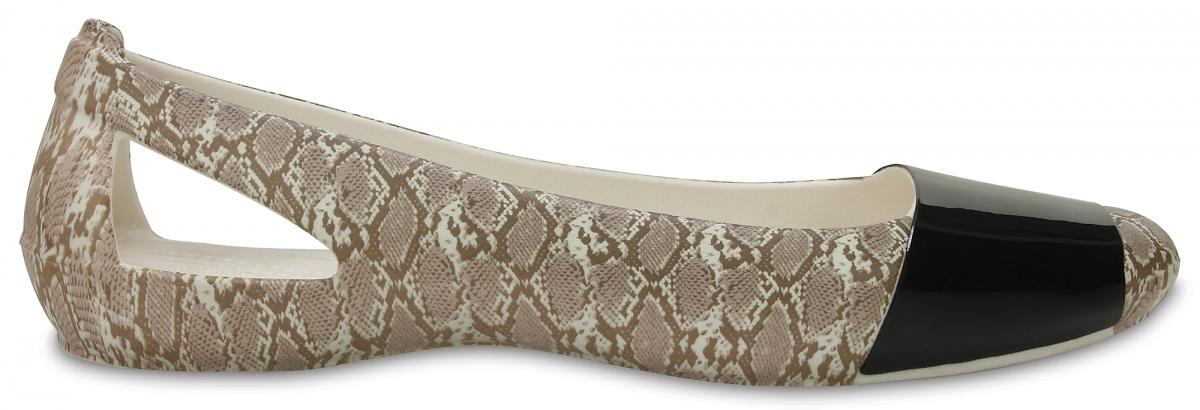 Crocs Sienna Shiny Animal Print - Snake, W8 (38-39)