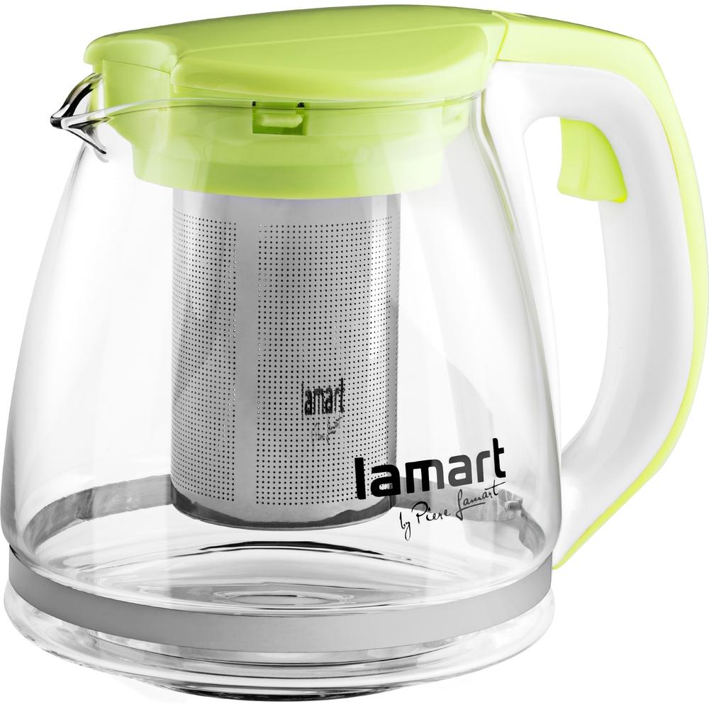 Lamart konvice na čaj LT7026, 1.1 litru - zelená