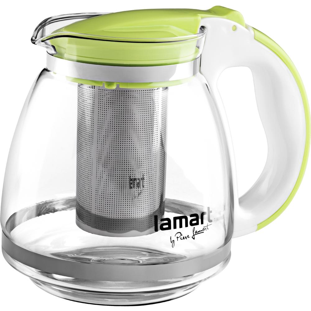 Lamart konvice na čaj LT7028, 1.5 litru - zelená