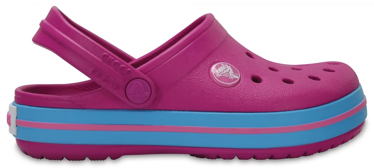 Crocs Crocband Kids - Vibrant Violet, J2 (33-34)