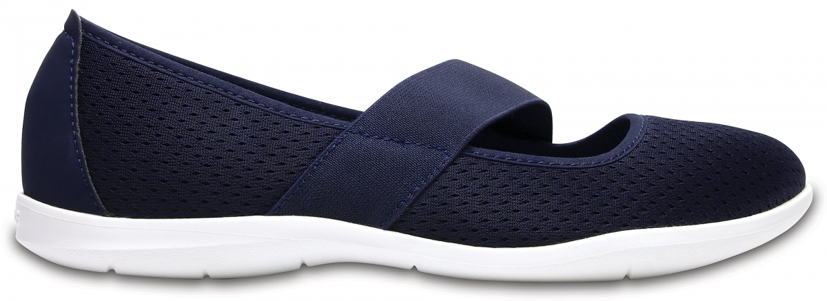 Crocs Swiftwater Flat - Navy/White, W7 (37-38)