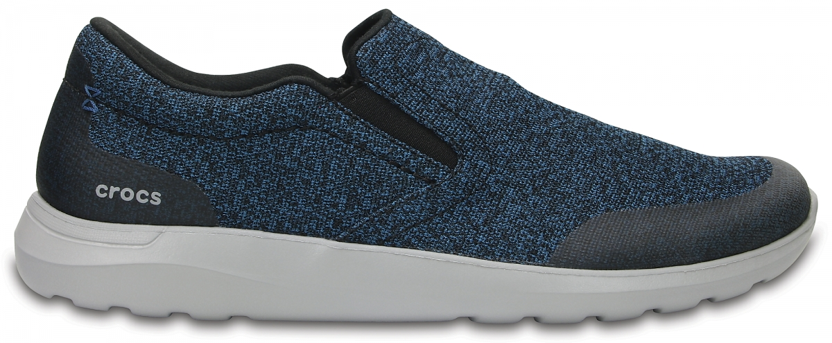 Crocs Kinsale Static Slip-on - Navy/Light Grey, M11 (45-46)