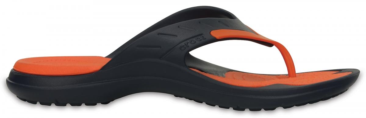 Crocs MODI Sport Flip - Navy/Tangerine, M9/W11 (42-43)