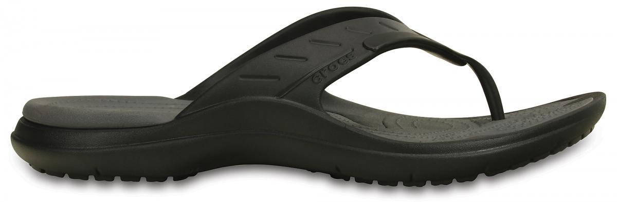 Crocs MODI Sport Flip - Black/Graphite, M8/W10 (41-42)