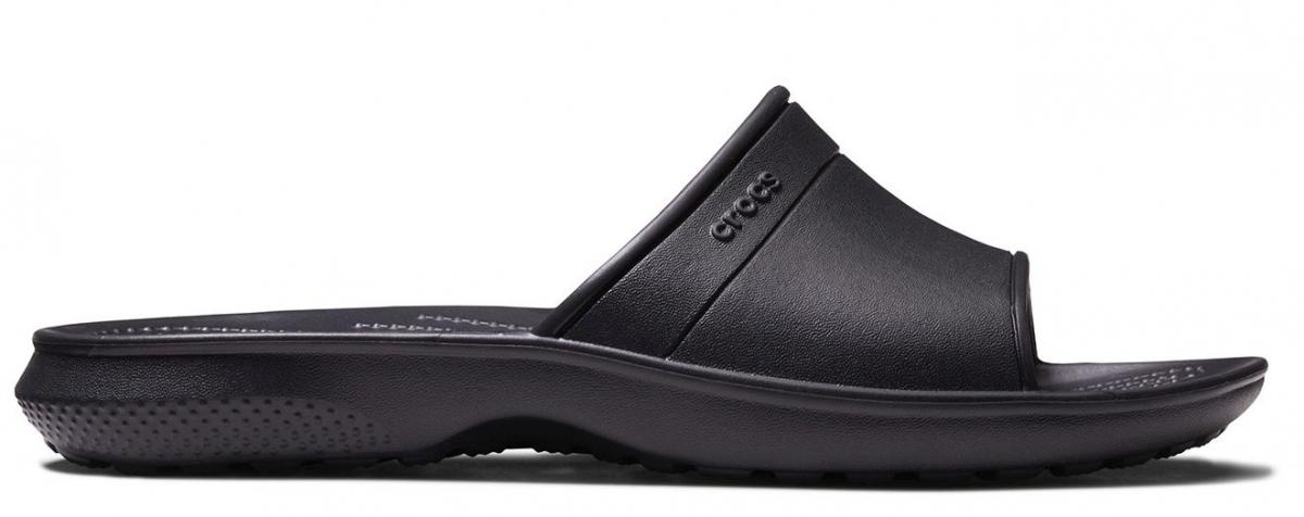 Crocs Classic Slide - Black, M6/W8 (38-39)