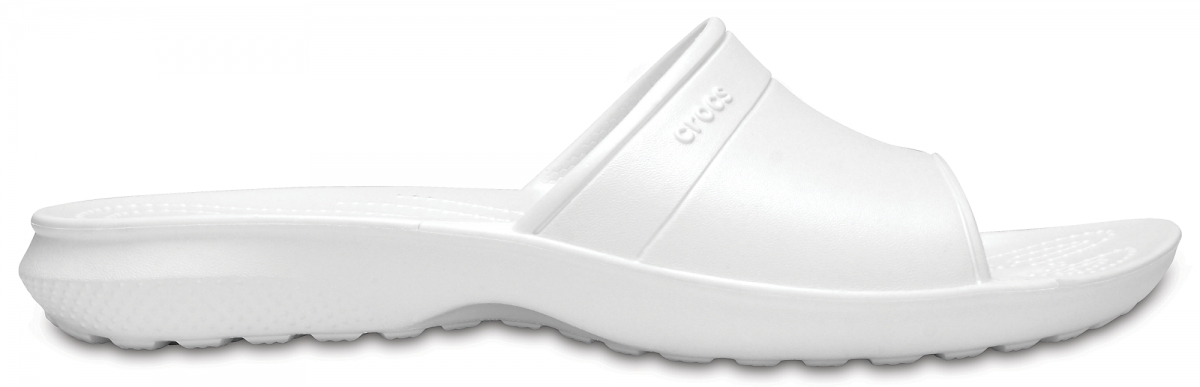 Crocs Classic Slide - White, M6/W8 (38-39)
