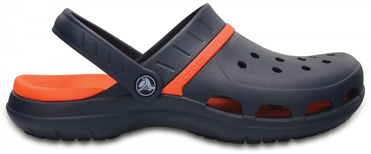 Crocs MODI Sport Clog - Navy/Tangerine, M5/W7 (37-38)