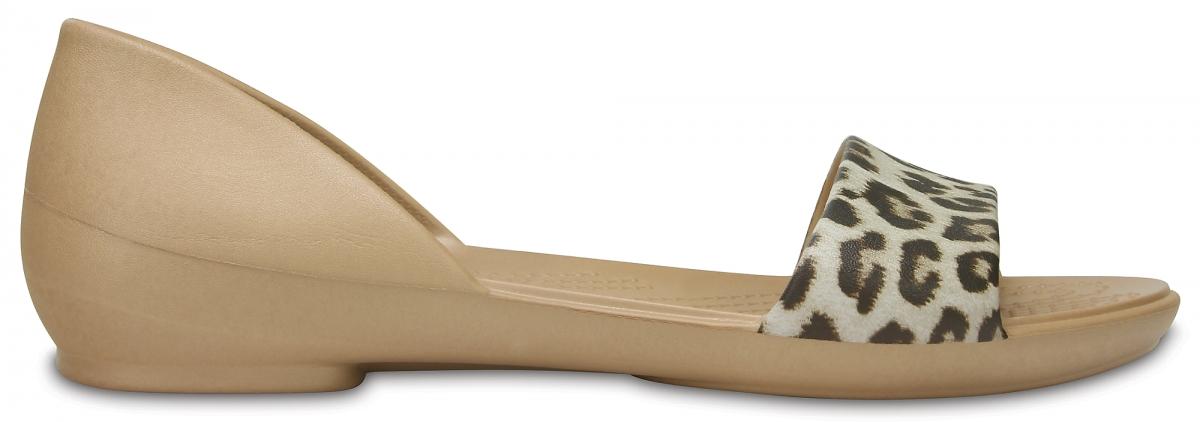 Crocs Lina Graphic D'Orsay - Leopard, W10 (41-42)