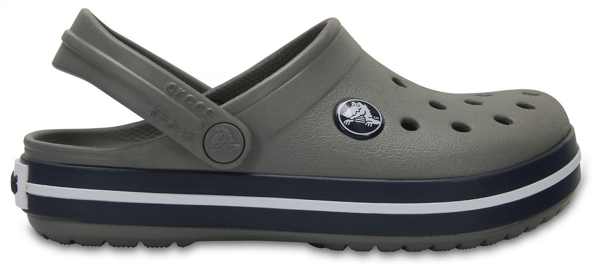 Crocs Crocband Kids - Smoke/Navy, J2 (33-34)