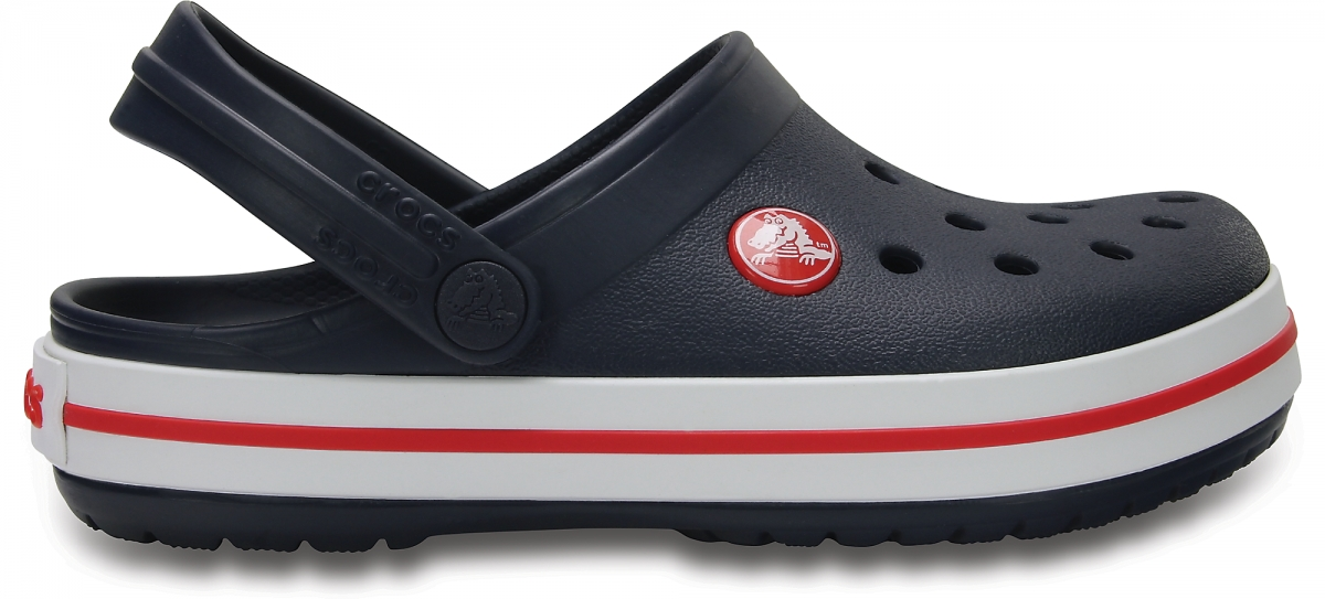 Crocs Crocband Kids - Navy/Red, J2 (33-34)