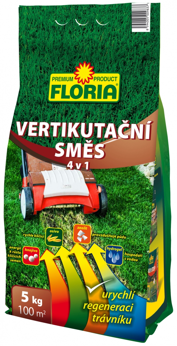 FLORIA Vertikutační směs 5 kg 008235