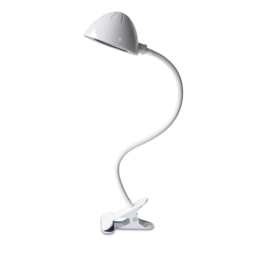 LED stolní lampička IMMAX Clip - bílá 08925L