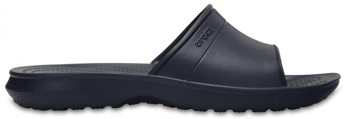 Crocs Classic Slide - Navy, M12 (46-47)