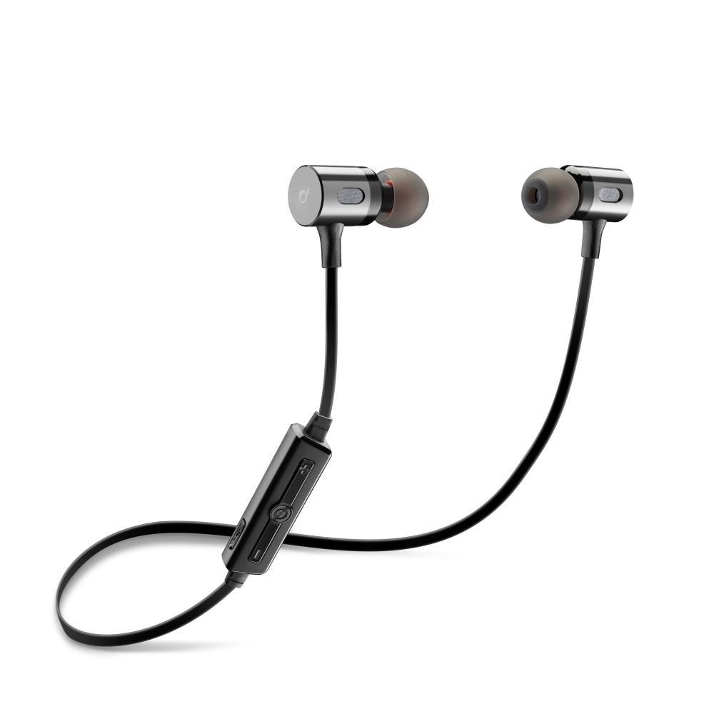 Bezdrátová In-ear stereo sluchátka Cellularline MOSQUITO - černá BTMOSQUITOK