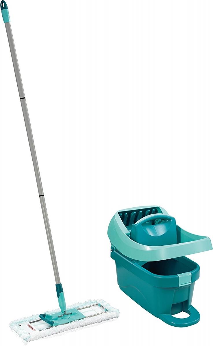 Set podlahový mop Profi + vědro Profi s nášlapným ždímáním Leifheit 55077