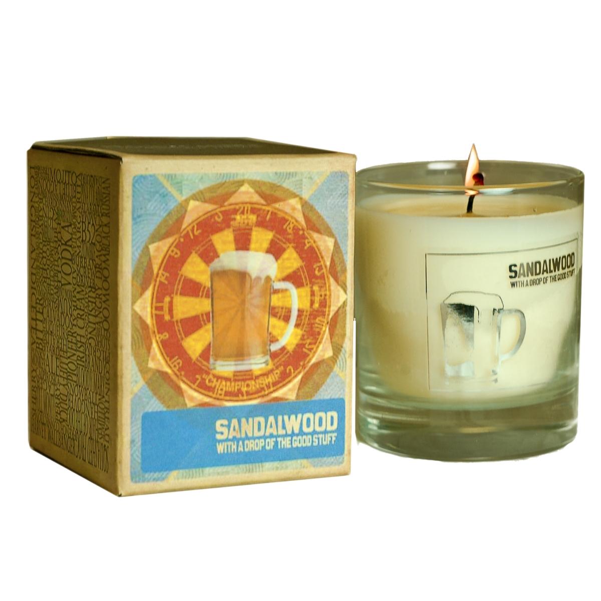 Vonná svíčka Canova Mans Candle - santalové dřevo