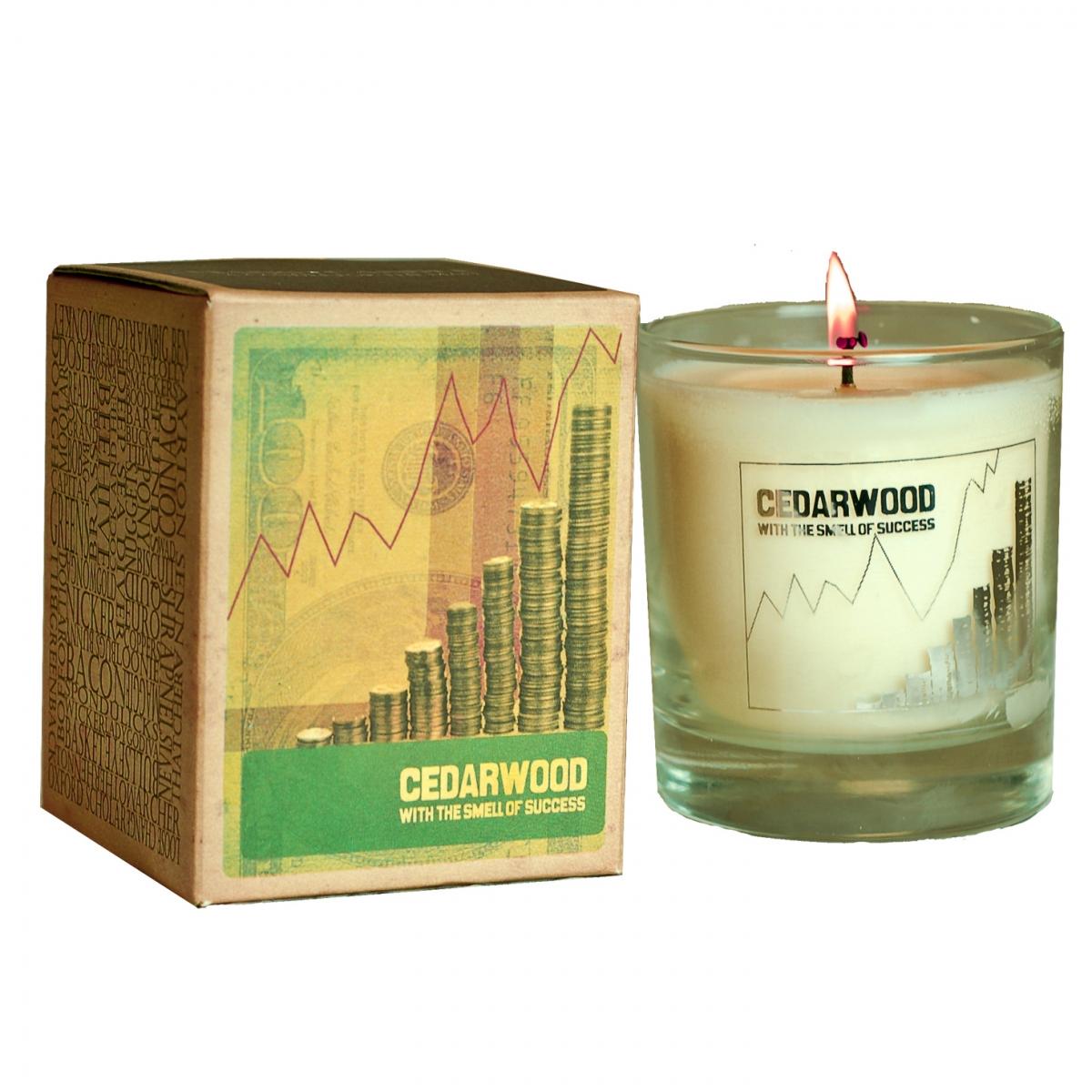 Vonná svíčka Canova Mans Candle - cedrové dřevo
