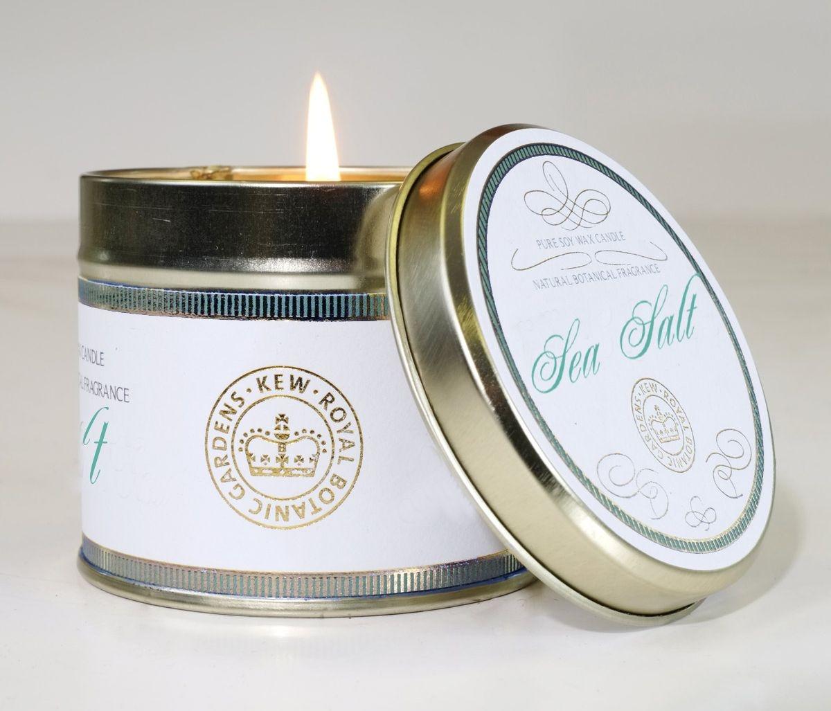 Vonná svíčka Canova Vintage Tin - mořská sůl