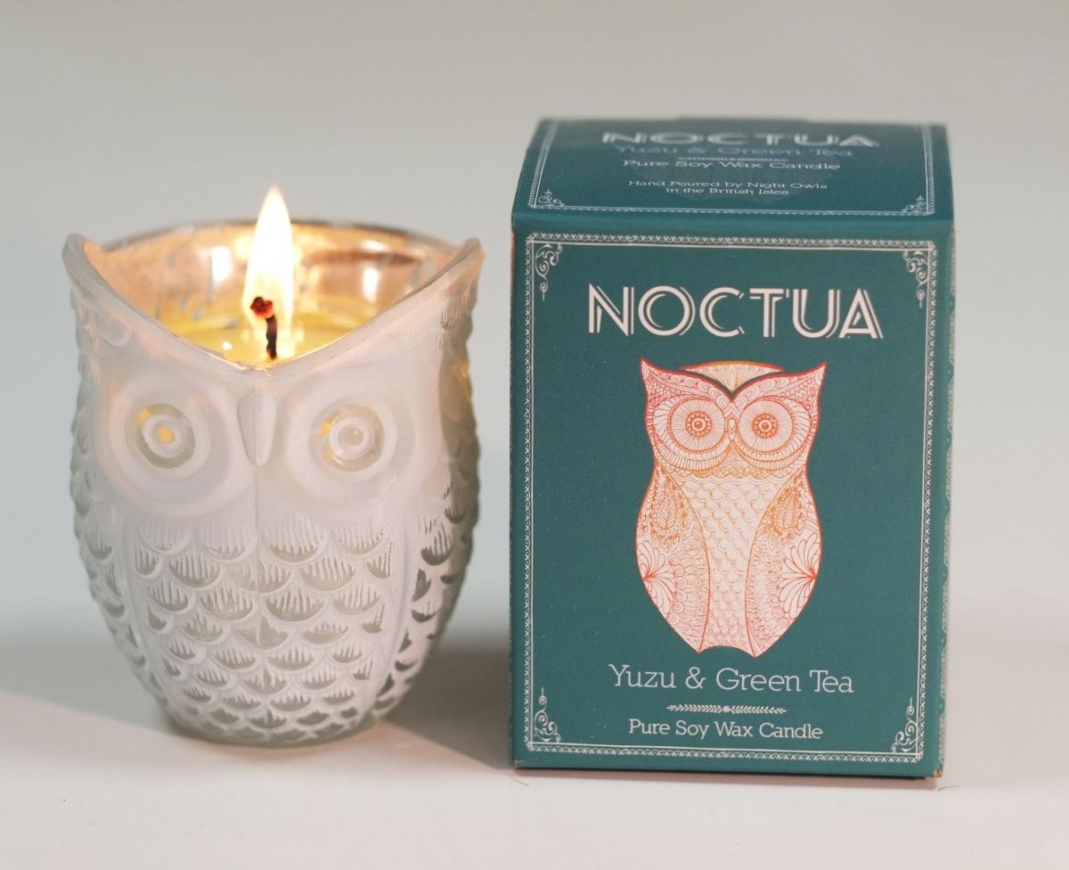 Vonná svíčka Canova Noctua - zelený čaj