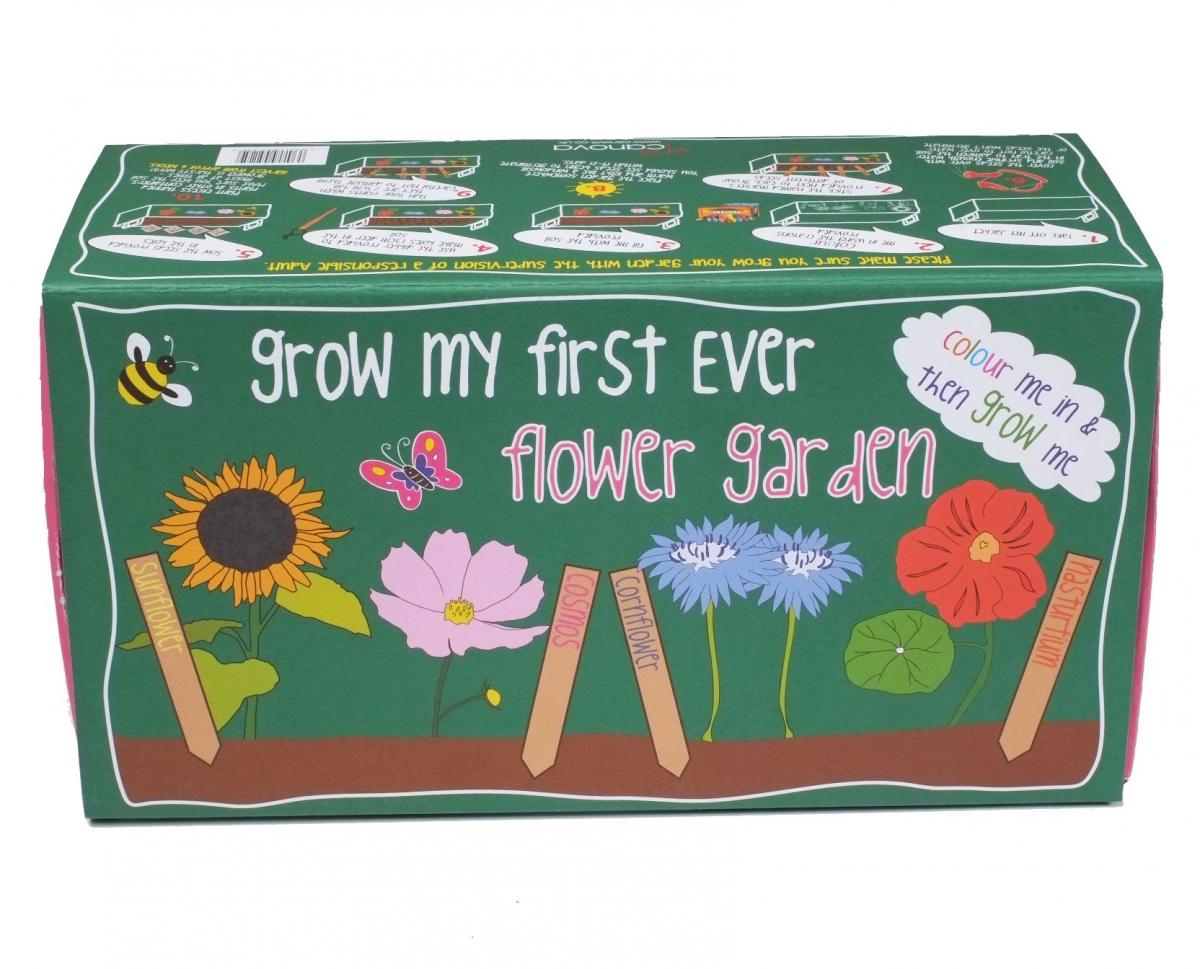 Domácí zahrádka Canova Grow My First Box - květiny