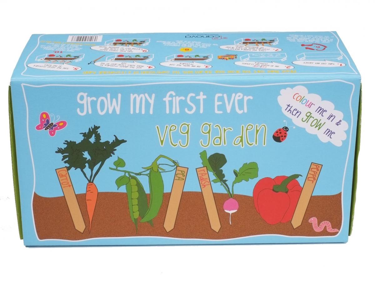 Domácí zahrádka Canova Grow My First Box - zelenina