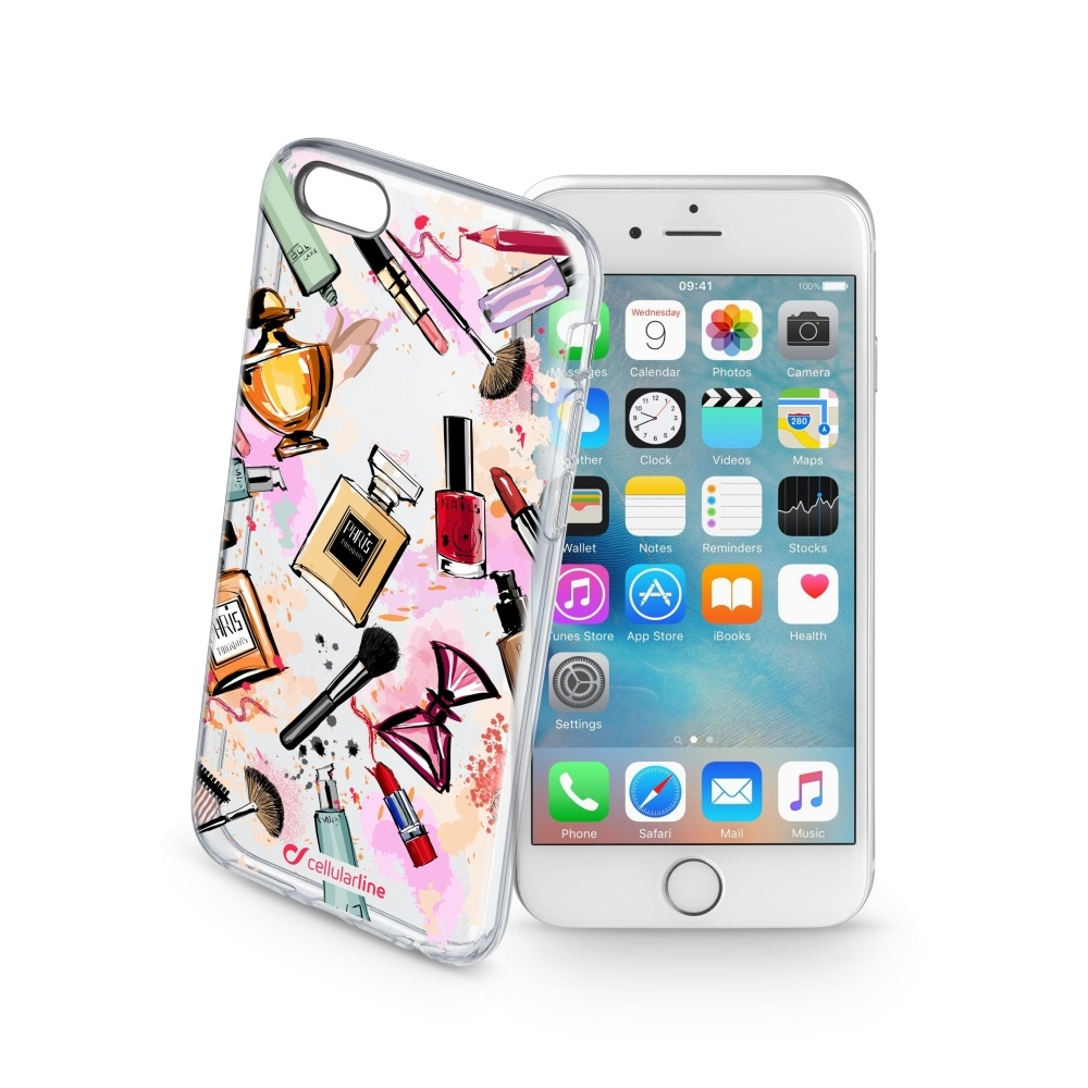 Obal Cellularline STYLE pro Apple iPhone 6/6S, motiv GLAM STYCS17GLAMIPH647