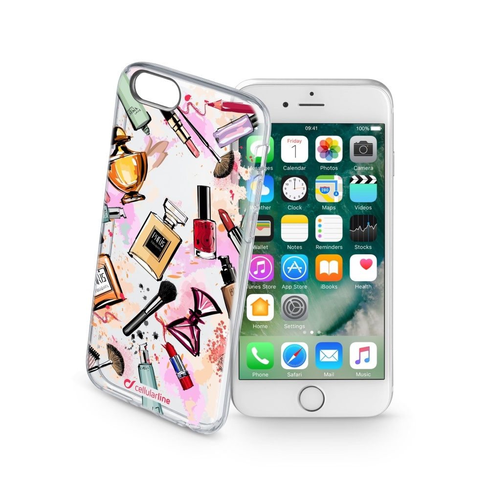 Obal Cellularline STYLE pro Apple iPhone 7/8, motiv GLAM STYCS17GLAMIPH747