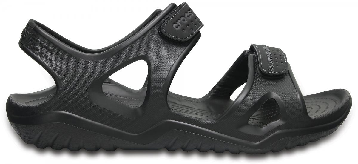 Crocs Swiftwater River Sandals - Black, M10 (43-44)