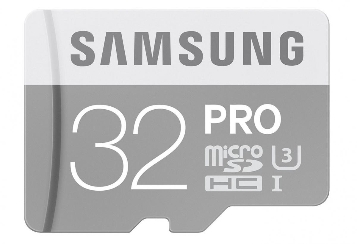 MicroSDHC karta Samsung PRO, 32GB, bez SD adaptéru MB-MG32E/EU