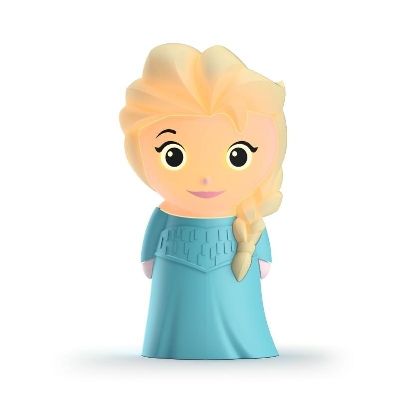 Noční světýlko do ruky pro děti Massive Philips - Elsa z Ledového království
