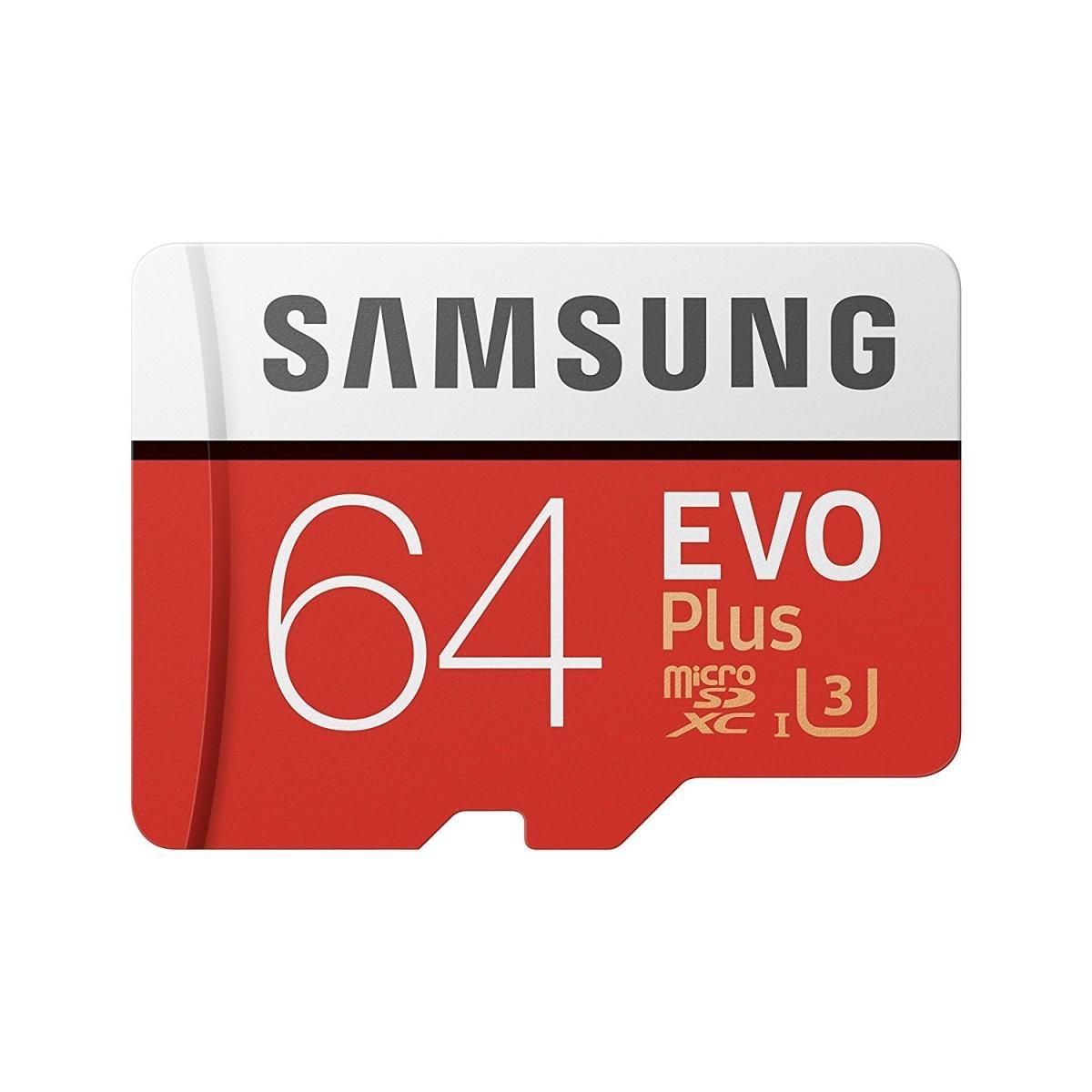 Samsung microSDXC 64GB UHS-I U3 + adaptér MB-MC64GA/EU MB-MC64GA/EU