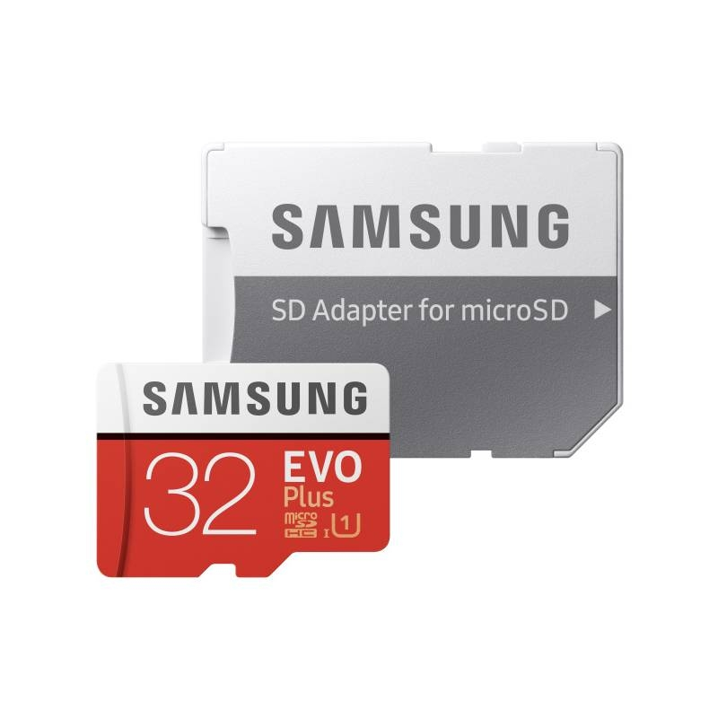 Trhák Micro SDHC 32GB Samsung EVO PLUS + SD adaptér (MB-MC32GA/EU) MB-MC32GA/EU