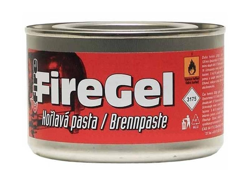 Hořlavý gel pro hořáky fondue a stolní grily, 200g