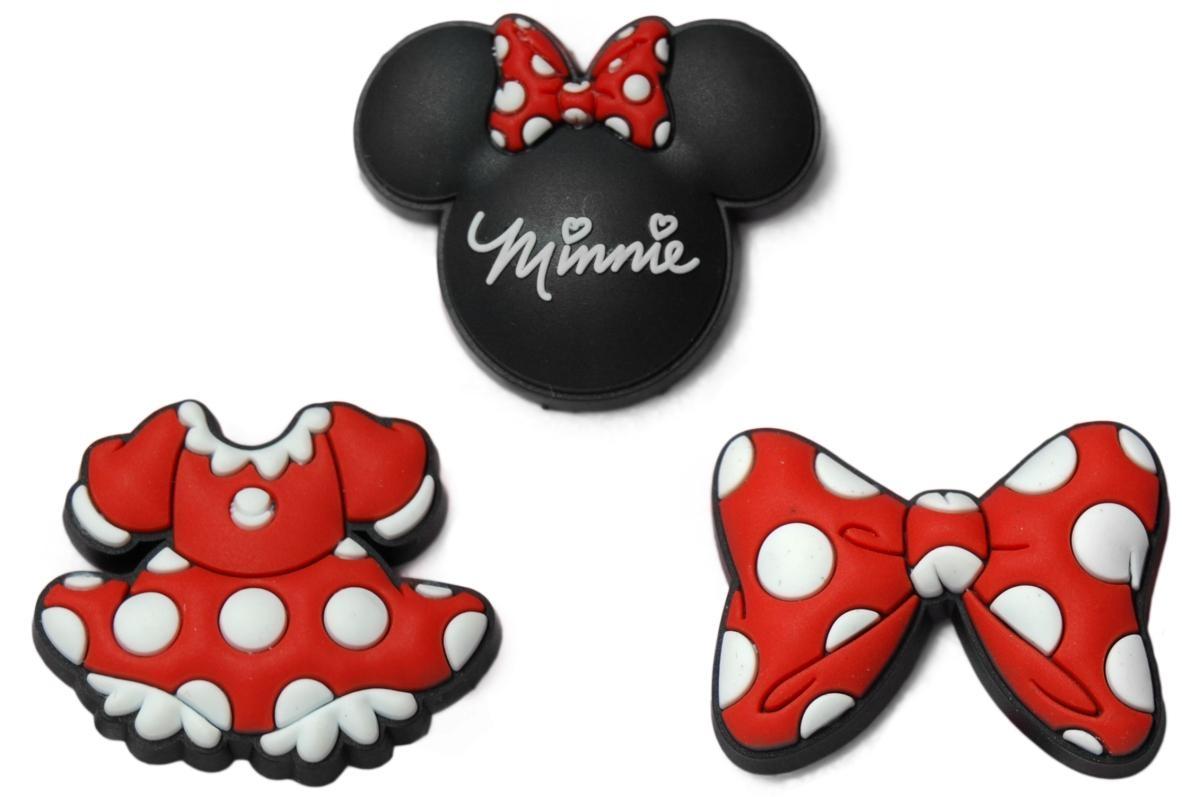 Jibbitz ozdoby na boty Crocs Minnie Mouse Pack, 3ks