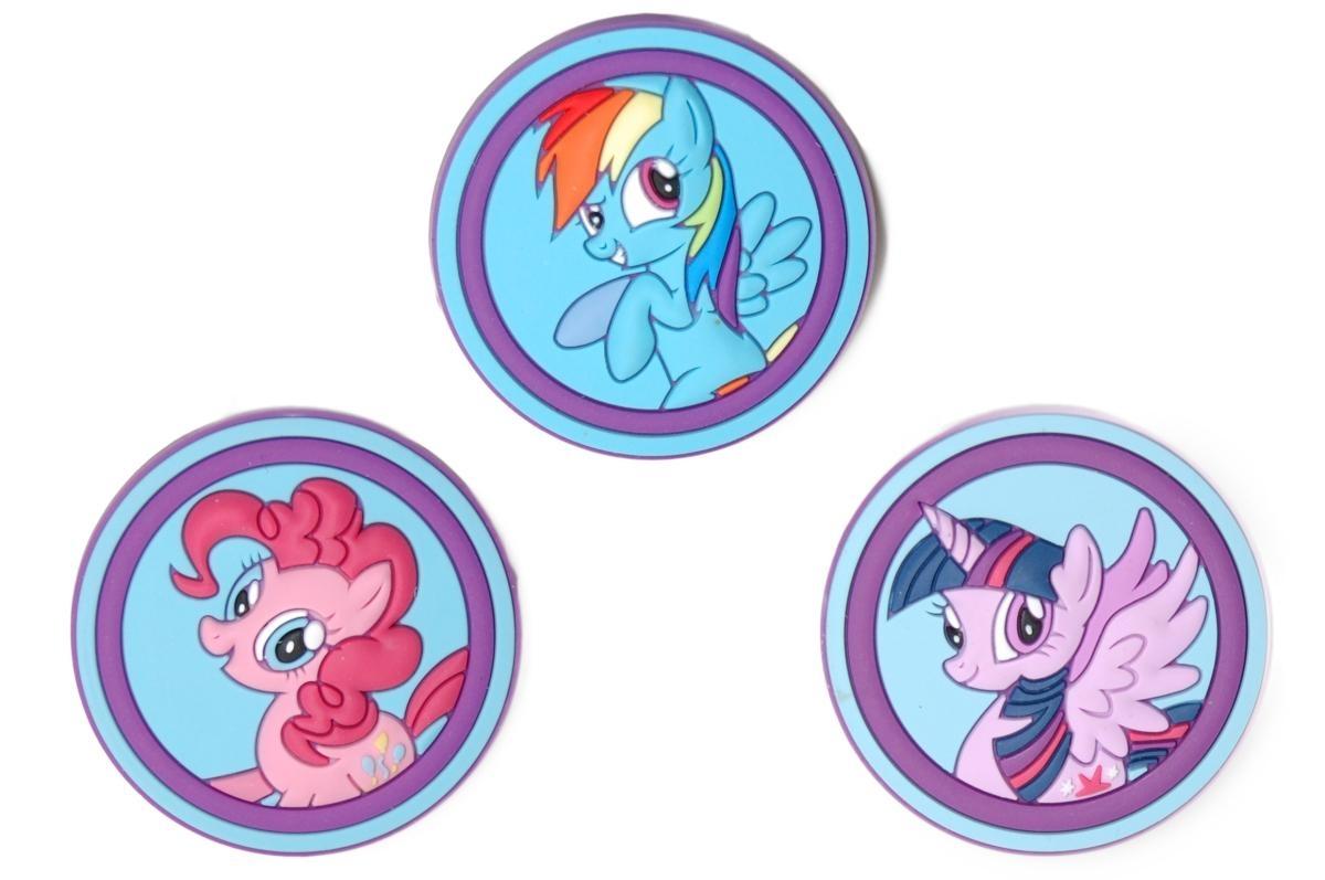 Jibbitz ozdoby na boty Crocs My Little Pony, 3ks