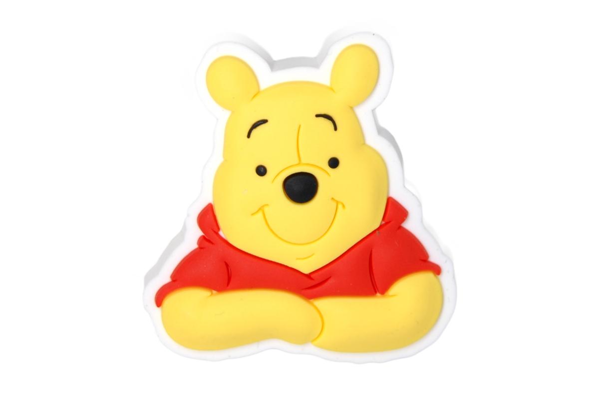 Crocs ozdoba Jibbitz Winnie Face SS17