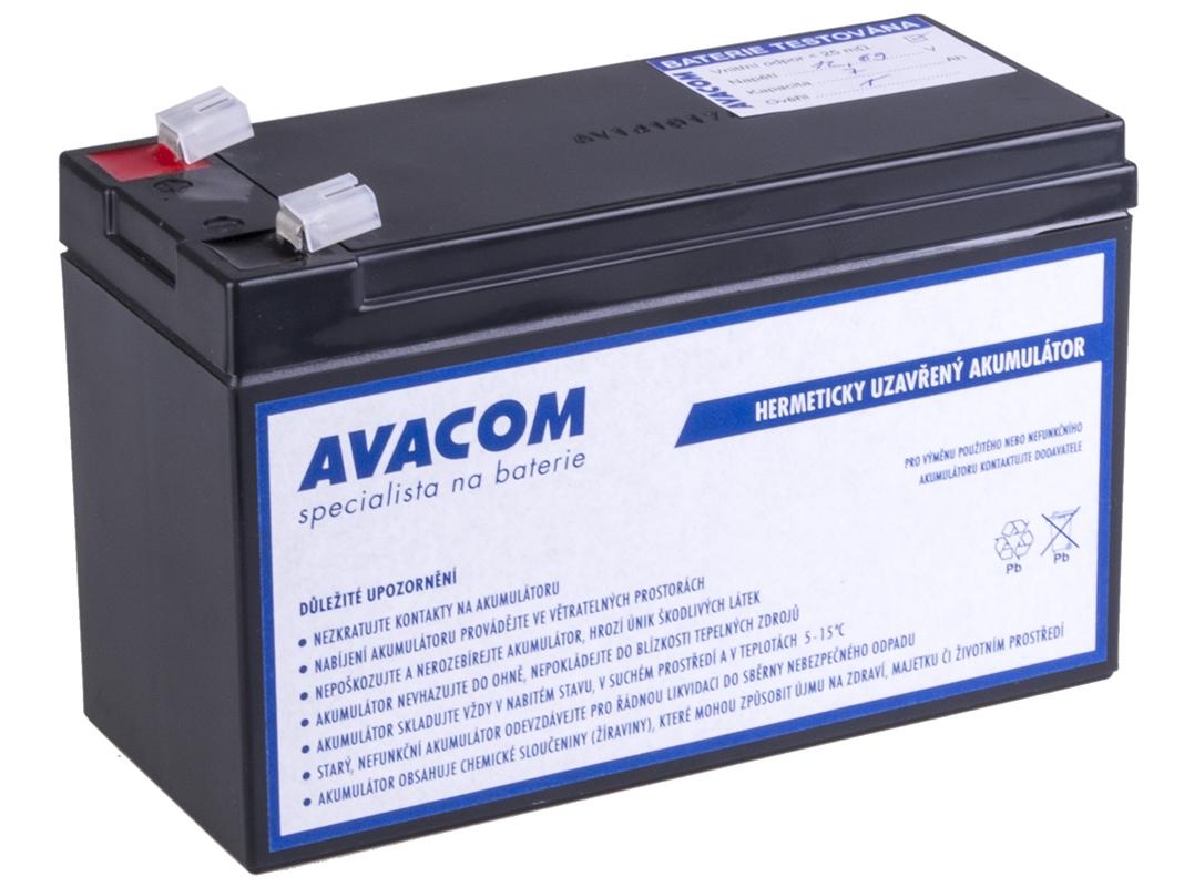 Baterie AVACOM AVA-RBC2 náhrada za RBC2 - baterie pro UPS AVA-RBC2