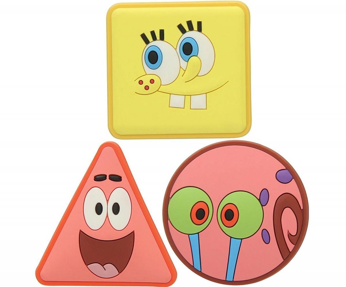 Jibbitz ozdoby na boty Crocs Spongebob SS17 Pack, 3ks