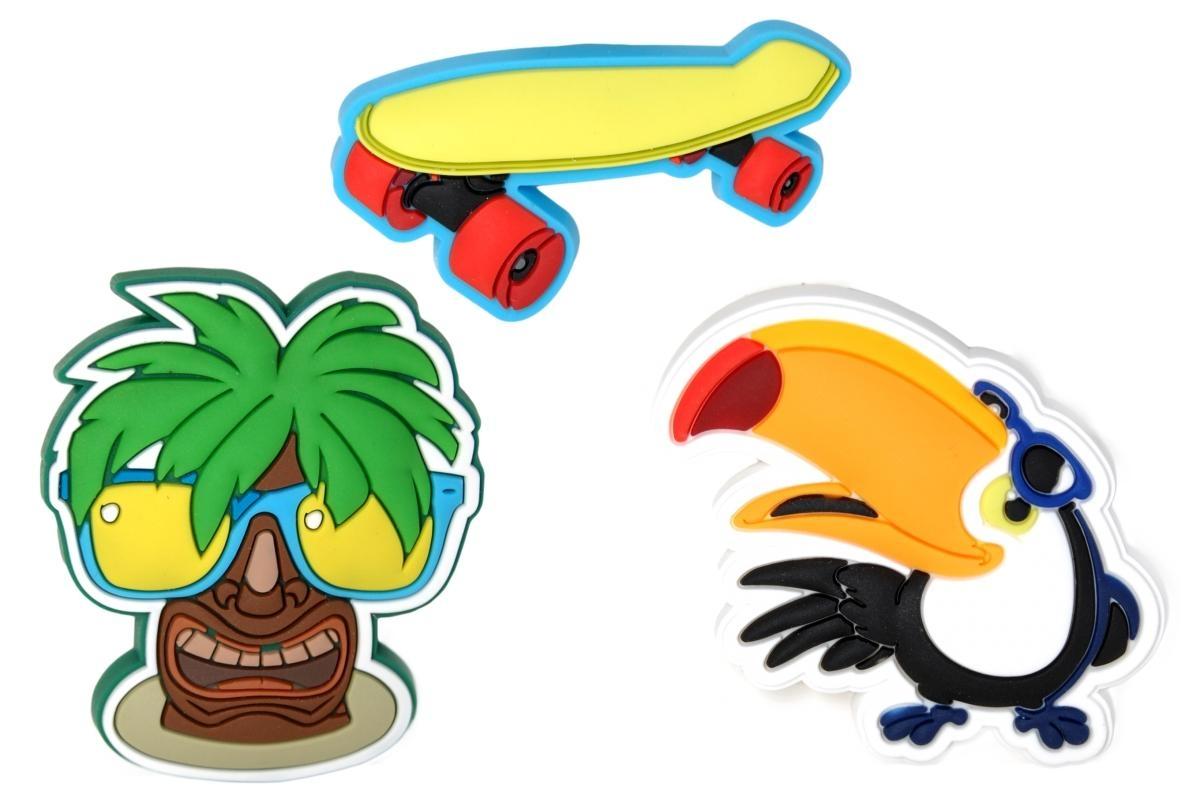 Jibbitz ozdoby na boty Crocs Island Fun Boys SS17 Pack, 3ks