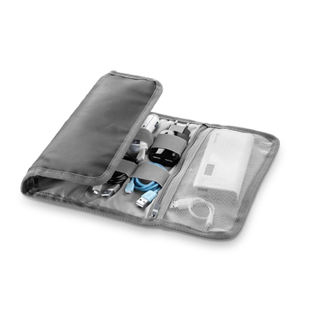 Univerzální organizér mobilního příslušenství Cellularline velký, šedý ORGANIZERBIGD