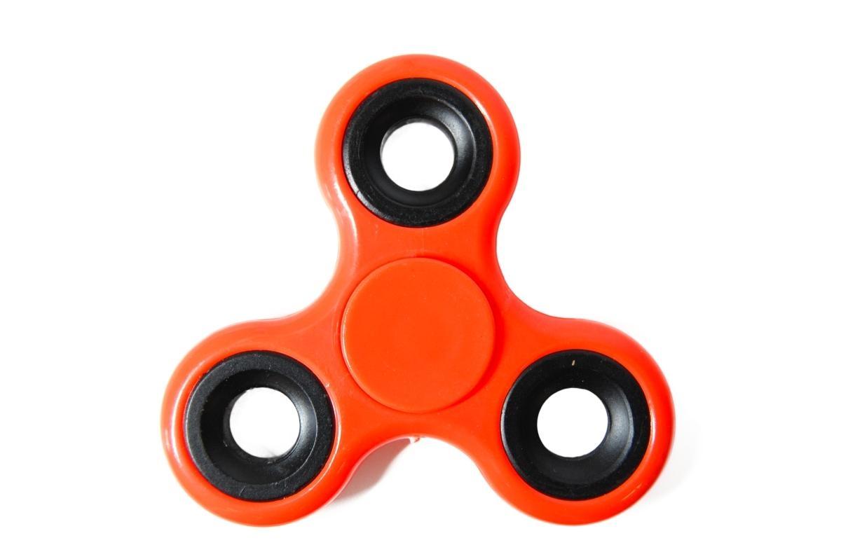 Klasický Fidget Spinner, oranžový
