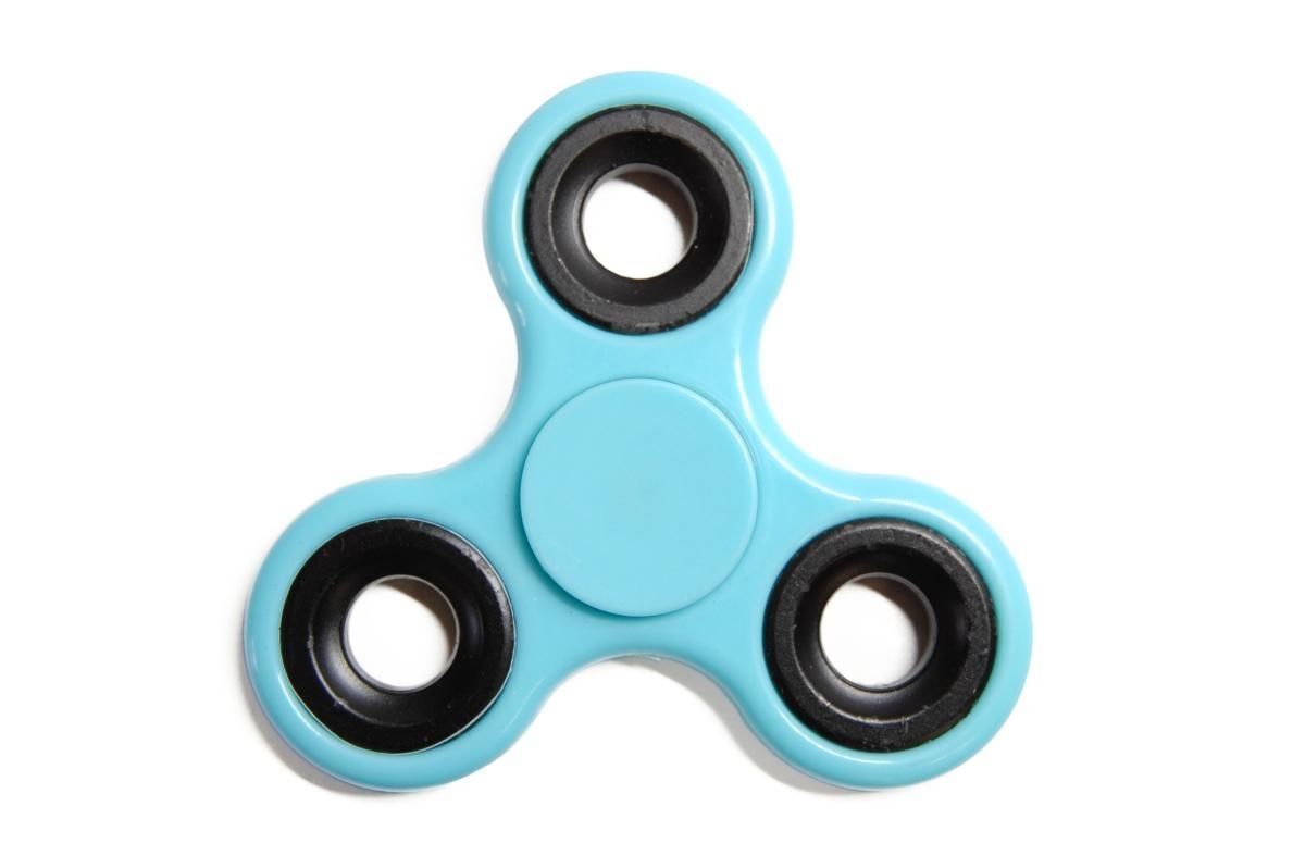 Klasický Fidget Spinner, modrý