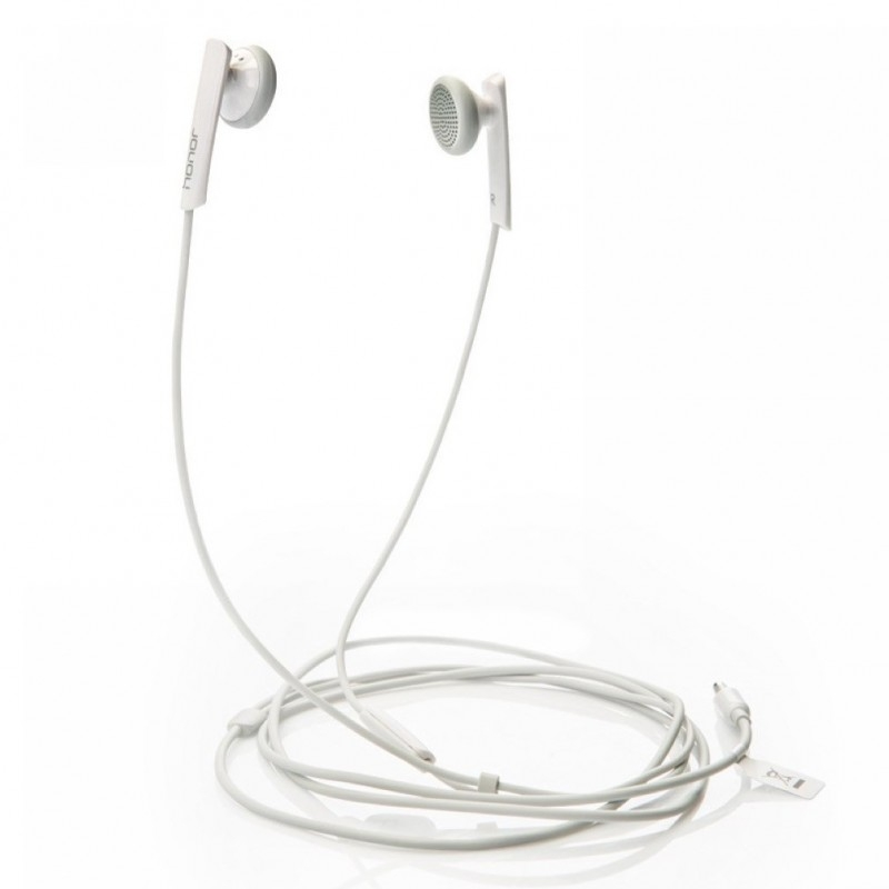 AM110 Huawei Stereo Headset vč. Ovládání a Mikrofonu White (Bulk)