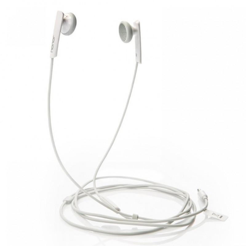 Huawei AM-110 sluchátka do uší s mikrofonem, bílá